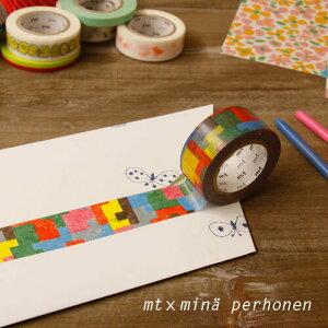 マスキングテープ mt × ミナ・ペルホネン puzzle【マスキングテープ マステ テープ …
