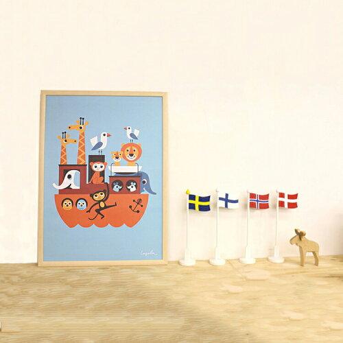 150円クーポン利用可★OMM-designインゲラ・アリアニウス ポスター 500×700mm【ポスター 北欧 イ...