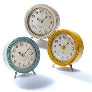 ポイント クーポン 置き時計 エアリアルレトロ おしゃれ デザイン アンティーク ラブリー フレンチ アナログ プレゼント