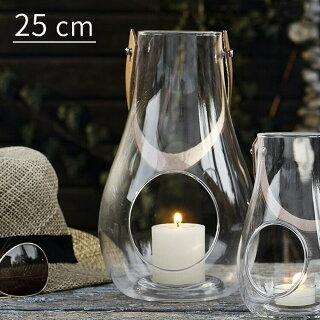 Design With Light ランタン クリア H25cm