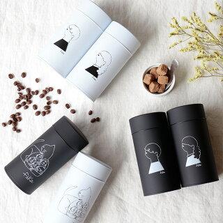 コーヒー缶 fika ペアセット