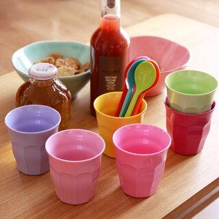 rice メラミンカップ 6個セット