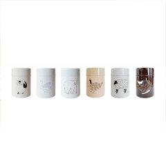 松尾ミユキ コーヒー缶 L【☆】【コーヒー缶 珈琲缶 茶筒 ブリキ 保存容器 コーヒー キッチ…
