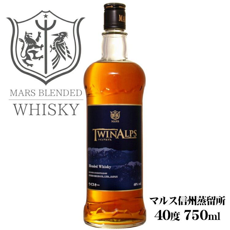 ウイスキー, ジャパニーズ・ウイスキー  TWIN ALPS 40 750ml