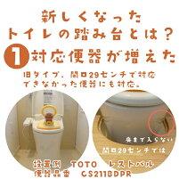 子供のトイレトレーニングの踏み台
