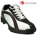 ニューモデル76%OFF ゴルフステーツ 4WDスパイクレス ゴルフシューズ GSS4004