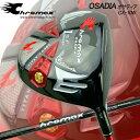 クロマックスから第2弾ゴルフギア誕生 クロマックス オサディア チタンドライバー マミヤOP社製カーボンシャフト 「CHROMAX OSADIA CX-10W」 送料無料 あす楽対応