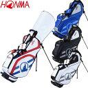 CB-12017 ホンマゴルフ スタンド式 キャディバッグ ゴルフバッグ HONMA GOLF