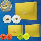 PGATOURハイテクノロジー2ピースゴルフボールPGA152PCBL