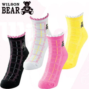 在庫処分 WILSON BEAR ウィルソン ベア レディースソックス WBS010L