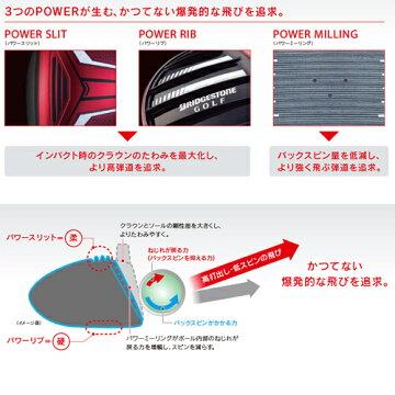 日本正規品2015年モデルブリヂストンゴルフJ815ドライバーツアーADJ15-11Wカーボンシャフト