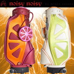 MIEKO UESAKO ミエコウエサコ noisy noisy ノイジーノイジー レディース オレンジ柄 キャディバック noisy-90025
