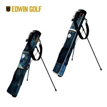 EDWINGOLFエドウィンゴルフセルフスタンドバッグラウンドバッグ5〜6本入りますEDWIN-341RB