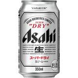 アサヒ スーパードライ 350ml缶 350ML×24本入り