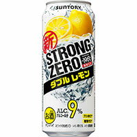 -196℃ストロングゼロ ダブルレモン/サントリー 500ml缶 500ML × 24缶 1ケースから送料無料!