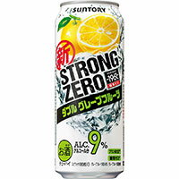 -196℃ストロングゼロ ダブルグレープフルーツ /サントリー 500ml缶 500ML × 24缶 1ケースから送料無料!