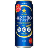 サッポロ 極ZERO 500ml 缶 〔発泡酒〕 500ML×24本入り