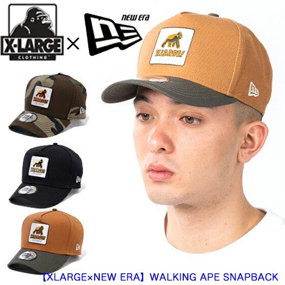 メンズ帽子, キャップ XLARGE XLARGENEW ERA WALKING APE SNAPBACK CAP 01195002