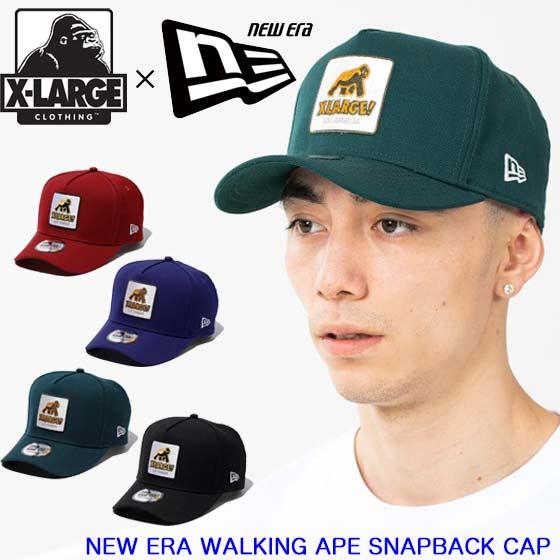 メンズ帽子, キャップ XLARGE NEW ERA WALKING APE SNAPBACK CAP 101203051003