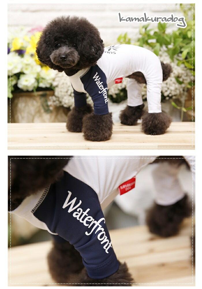 【ドッグウェア】【犬の服】ラッシュガード★アイランドつなぎ