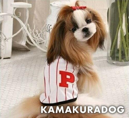 【ドッグウェア】【犬 服】【トイプードル 犬 服】【犬服】ビブス風Tシャツ