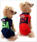 ◆メール便送料無料◆【ドッグウェア】【犬の服】★ロゴつなぎ&ワンピース