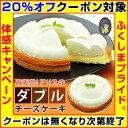 【クーポン使用で20%オフ】アリスのダブルチーズケーキ【 クリスマスケーキ 誕生日 ケーキ お歳暮 ギフト 】※店側でクーポンの後付けは出来ませんので、ご使用忘れにご注意ください。