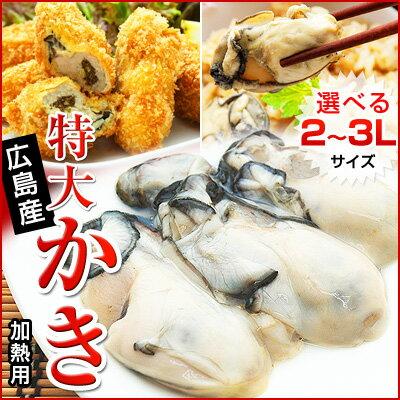 広島県産特大サイズ牡蠣むき身