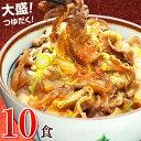日東ベストの牛丼DX【185g×10パック】 お取り寄せ あ...