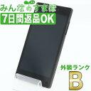 【中古】 KYV42 Qua phone QX ブラック 【