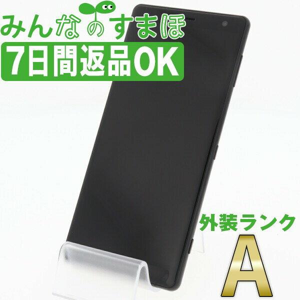 スマートフォン・タブレット, スマートフォン本体  SO-03K Xperia XZ2 Liquid Black SIM A so03kbk8mtm