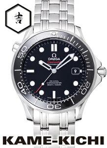 オメガ シーマスタープロフェッショナル Ref.212.30.41.20.01.003 新品 ブラック (OMEGA Seamaster Professional)【楽ギフ_包装】