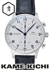 IWC ポルトギーゼクロノ Ref.IW371446 ホワイト 新品 (IWC Portugieser Chorono)【楽ギフ_包装】