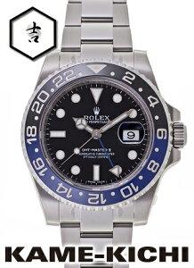 ロレックス GMTマスターII Ref.116710BLNR ブラック 新品 (ROLEX GMT MasterII)【楽ギ...