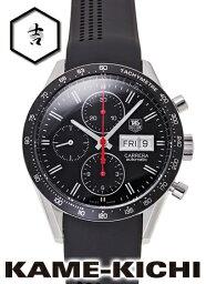 タグ・ホイヤー カレラ クロノグラフ キャリバー16 Ref.CV201AH.FT6014 新品 ブラック (TAG HEUER Carrera Chronograph Caribre16)【楽ギフ_包装】