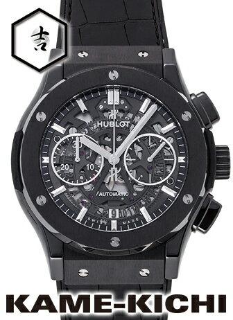 腕時計, メンズ腕時計 35000OFF121 Ref.525.CM.0170.LR HUBLOT Classic Fusion Aero Fusion Black Magic