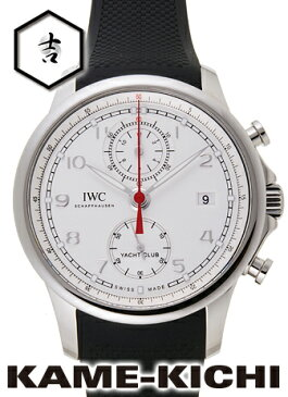 IWC ポルトギーゼ ヨットクラブ クロノグラフ Ref.IW390502 新品 シルバー (IWC Portuguese Yacht Club Chronograph)【楽ギフ_包装】