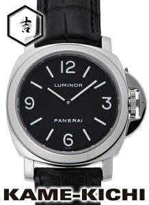 【中古】パネライ ルミノール ベース Ref.PAM00112 ブラック (PANERAI Luminor Base)【楽ギフ_包装】