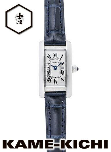 腕時計, レディース腕時計 35000OFF111 Ref.WSTA0032 CARTIER Tank AmerIcan MInI