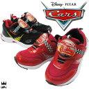 キッズスニーカー カーズ スニーカー 6768 靴 キッズ 子供 男の子 ベルクロ マジック 通園 ディズニー Disney Cars ライトニング・マックイーン 赤 レッド 黒 ブラック