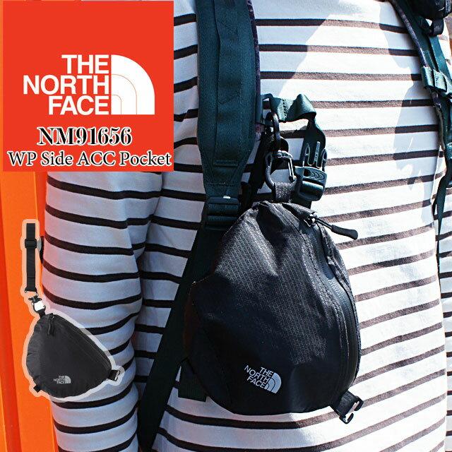 THE NORTH FACE ザ・ノースフェイス メンズ レディース ポーチ NM91656 ダブルピーサイドアクセサリーポケット ショルダーハーネス アウトドア キャンプ トレッキング 登山 ハイキング ポーチ evid
