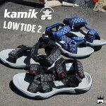 カミックKamik男の子子供靴キッズジュニアサンダルスポーツサンダル1600444ベルクロスポサン男児ボーイズ夏マジック