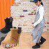 キッズジュニア男の子女の子防水ムートンブーツBCK026ブラックベージュレインブーツスノーブーツ
