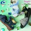 ムーンスターMoonStarサンダル女の子子供靴キッズジュニアSGJ488シュガーアップルワンピースウェッジソールウエッジヒールevid