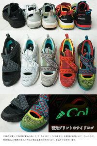 コロンビアColumbiaスポーツサンダルスニーカーメンズレディース靴ロックントレイナーネイキッド2アクアシューズマリンシューズローカットブラックホワイトグリーンレッドベルクロメッシュYU0307evid