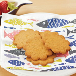 KLIPPAN クリッパン ペーパーナプキン フィッシュ 20枚入り キッチン ダイニング ナチュラル素材 スウェーデン 140周年 サステナブル デザイン 北欧