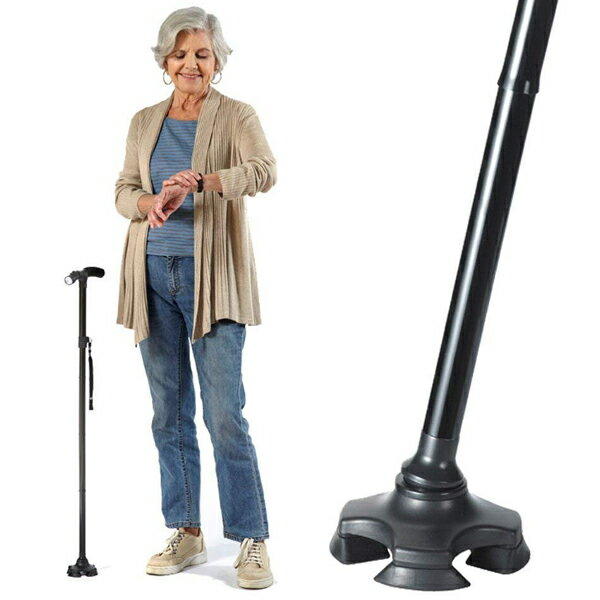 ステッキ・杖, 一本杖 500 CaneSafe 3 LED LED