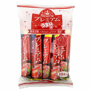 プレミアムうまい棒 明太子味 1袋10本 【やおきん】【スナック菓子】