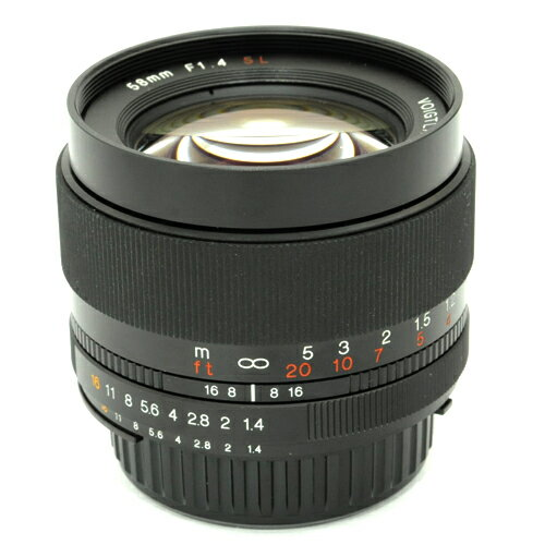 カメラ・ビデオカメラ・光学機器, カメラ用交換レンズ Voigtlander 58mm F1.4 SL IIsFsmtb-TD