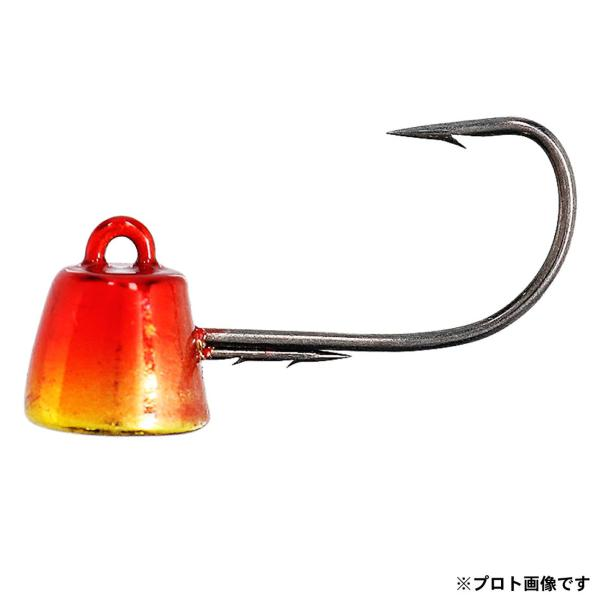 ジグヘッド【ダイワ】快適マイクロテンヤSS3.0g#6ケイムラ赤金